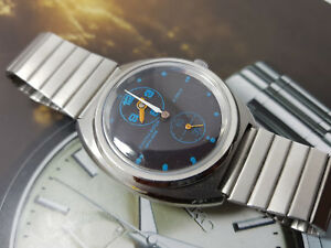 【送料無料】 腕時計 ビンテージアンゴラスイスレギュレータvintage angora swiss made men regulator hand winding doctors wrist watch ss