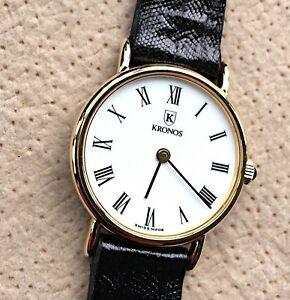 watch lizard 腕時計 25 vintage kronos 【送料無料】 lezard lizard watch クロノスリザードリザードヴィンテージウォッチnos mm