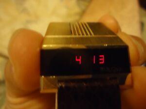 【送料無料】 腕時計 ドライバヴィンテージbulova led driver computron vintage watch