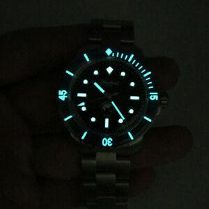 腕時計 サンマルティン 5015ステンレス20atmsan martin  5015 mens stainless steel watch automatic diving watches 20atm