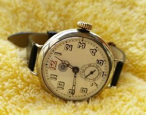 【送料無料】 腕時計 1900 ̄30roskopf1900 ~ 30s roskopf antique hand winding wristwatch