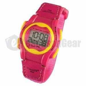【送料無料】 腕時計 vibralite mini 12ピンクvmvpn25アラームvibralite mini 12 vibrating alarm small watch for kidschildren, pink vmvpn 25