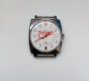 【送料無料】 腕時計 ウォッチソソビエトロシアpobeda watch publicity ussr wristwatch soviet russian mens