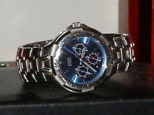 【送料無料】 腕時計 スチールスポーツアナログウォッチpreowned men's guess waterpro steel i90111g2 sport analog watch