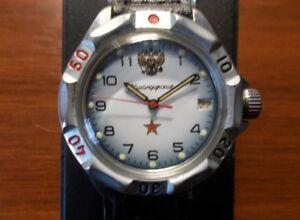 【送料無料】 腕時計 ヴォストークウォッチビンテージロシアソvostok komandirskie watch 2414a vintage russian wristwatch ussr