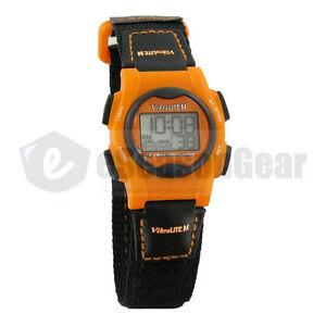 【送料無料】 腕時計 ミニアラームブラックオレンジ#