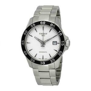 【送料無料】 腕時計 ティソメンズスチールブレスレットケースtissot mens v8 42mm steel bracelet amp; case automatic watch t1064071103100