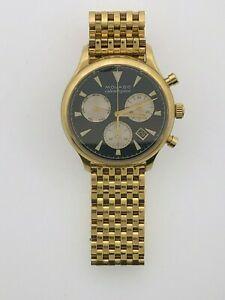 【送料無料】 腕時計 モベードmo031346263calendoplanイェローゴールドchronomovado mo031346263 mens heritage calendoplan yellow gold steel watch chrono