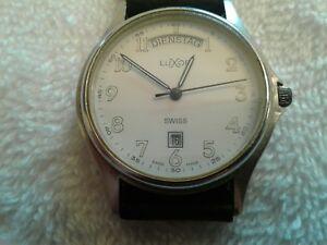 【送料無料】 腕時計 rare vintage german luxor watch w daydate automaticrare vintage german luxor watch w daydate automatic
