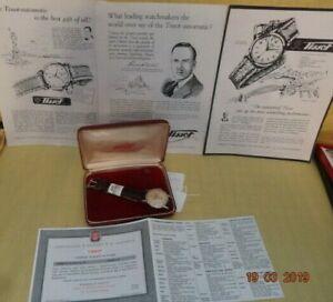 【送料無料】 腕時計 19501958 tissot 34mmステンレスcal 27b115jorgnl boxテープservic1950 1958 tissot 34mm stainless steel cal 27b1 15j orgnl box tape pa