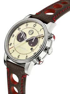 【送料無料】 腕時計 クロノグラフメルセデスベンツクラシックwristwatch man chronograph original mercedes benz leather classic 300 sl