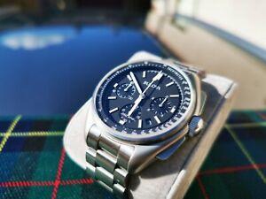 【送料無料】 腕時計 パイロットクロノグラフムーンウォッチbulova lunar pilot chronograph moon watch