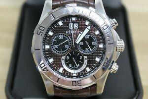 【送料無料】 腕時計 ミシェルトロフィークロノグラフウォッチgents michel herbelin port trophy chronograph watch excellent condition