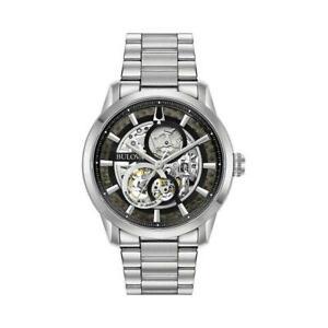 【送料無料】 腕時計 ブローヴァ96a208アナログwatch bulova automatic 96a208 automatic analogue only time steel steel