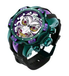 【送料無料】 腕時計 リザーブジョーカーコミッククロノグラフスイスinvicta reserve venom 26790 joker dc comics 525mm chronograph, swiss movement