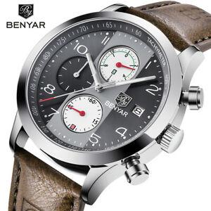 【送料無料】 腕時計 スポーツクオーツステンレススチールbenyar sport men watch quartz wristwatch stainless steel waterproof wrist army