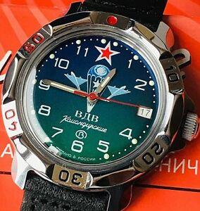 【送料無料】 腕時計 ヴォストークウォッチvostok komandirskie military watch 811818