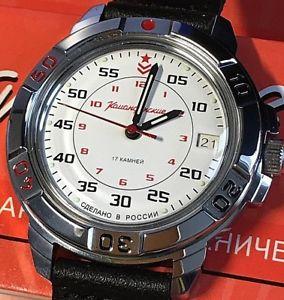 【送料無料】 腕時計 ヴォストークロシアウォッチvostok komandirskie russian military watch 431171