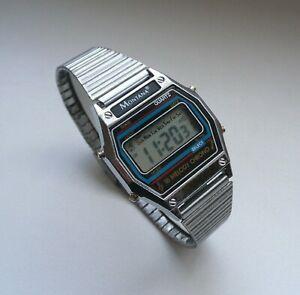 【送料無料】 腕時計 モンタナクロノグラフビンテージデジタルウォッチウォッチmontana gf139d chronograph watch vintage digital watch 1980s