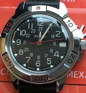 【送料無料】 腕時計 ヴォストークロシアウォッチvostok komandirskie russian military watch 431783