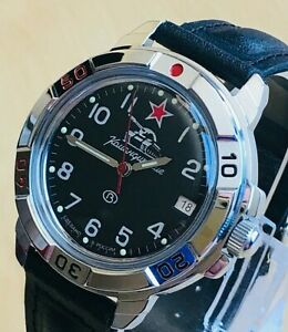 【送料無料】 腕時計 vostok komandirskie russian military watch431306 vostok komandirskie russian military watch 431306