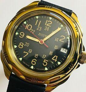 【送料無料】 腕時計 ヴォストークロシアウォッチvostok komandirskie russian military watch 219782