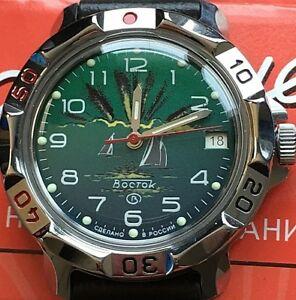 【送料無料】 腕時計 ヴォストークロシアウォッチvostok komandirskie russian military watch 811976