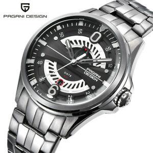 【送料無料】 腕時計 デザインメンズラグジュアリークオーツpagani design mens luxury quartz watch 43mm military wristwatch waterproof gift