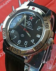 【送料無料】 腕時計 ヴォストークロシアウォッチvostok komandirskie russian military watch 431306