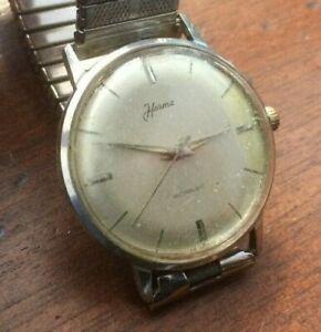 【送料無料】 腕時計 vintage 1950hermagents manual wind swiss eta2391wristwatchvintage 1950s herma gents manual wind swiss eta 2391 wristwatch