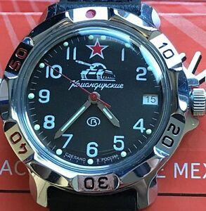 【送料無料】 腕時計 vostok komandirskie military watch811306vostok komandirskie military watch 811306