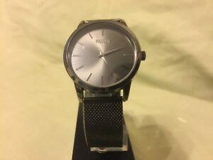 【送料無料】 腕時計 スティーヴクオーツステンレスブラック