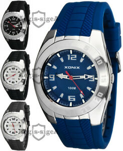 【送料無料】 腕時計 xonixアナログ100m