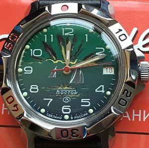 【送料無料】 腕時計 vostok komandirskie russian military watch811976vostok komandirskie russian military watch 811976