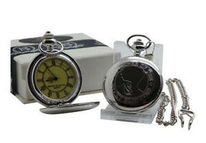 【送料無料】 腕時計 シルバーポケットコレクタチェーンケース