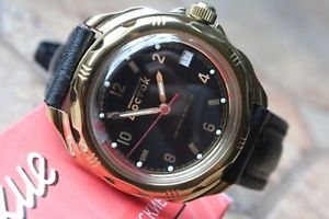 【送料無料】 腕時計 ヴォストークロシア#vostok komandirsky russian military wrist watch 219326