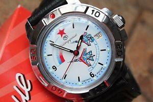 【送料無料】 腕時計 ヴォストークロシア#vostok komandirsky russian military wrist watch 431066