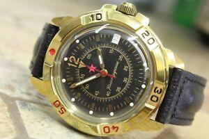 【送料無料】 腕時計 ヴォストーク#vostok komandirsky military wrist watch 439399