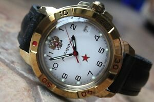 【送料無料】 腕時計 ヴォストーク#vostok komandirsky military wrist watch 439322