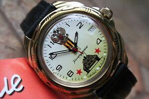 【送料無料】 腕時計 ヴォストークロシア#vostok komandirsky russian military wrist watch 219943