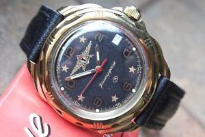 【送料無料】 腕時計 ヴォストークロシア#vostok komandirsky russian military wrist watch 219452