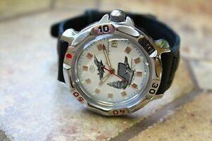 【送料無料】 腕時計 ヴォストークロシアvostok komandirskie russian wrist watch 811261