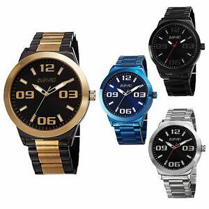 【送料無料】 腕時計 シュタイナースイスクオーツクラシックスチールブレスレットmens august steiner as8134 swiss quartz classic three hand steel bracelet watch