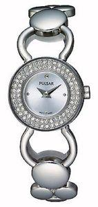 【送料無料】 腕時計 パルサーレディーススワロフスキーステンレススチールブレスレット×pulsar ladies swarovski stainless steel bracelet watch pegd87x1pnp