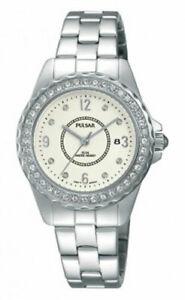 【送料無料】 腕時計 パルサーレディーススワロフスキーステンレススチールブレスレット×pulsar ladies swarovski stainless steel bracelet watch ph7405x1pnp