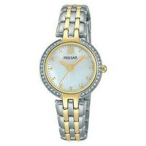 【送料無料】 腕時計 パルサーレディーストーンブレスレット×pulsar ladies two tone bracelet watch ph8166x1pnp