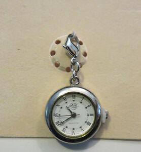【送料無料】 腕時計 シルバーウォッチkirks folly add a charm watch nwt silver