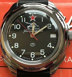 【送料無料】 腕時計 vostok komandirskie russian military watch211306vostok komandirskie russian military watch 211306
