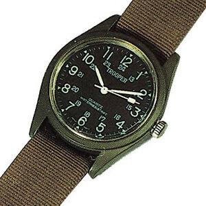 【送料無料】 腕時計 フィールドウォッチオリーブドラブrothco 4104 od military field watch water resistant olive drab
