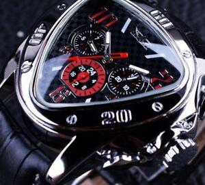 【送料無料】 腕時計 ファッションスポーツレーシングデザインluxury fashion huge modern men watch automatic sport racing design wrist watch